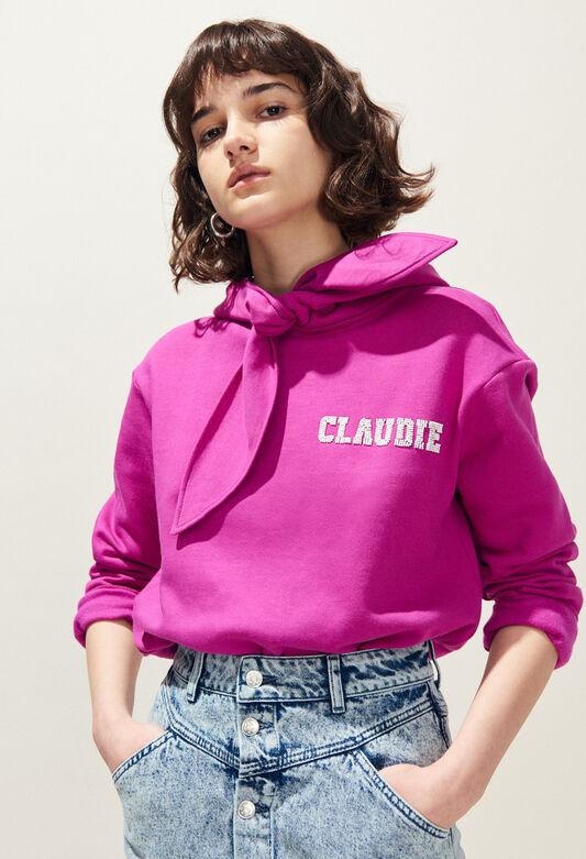 끌로디 피에로 TCOOL 스웨터 후드 Claudie Pierlot TCOOL - Sweat A capuche Claudie,ORCHIDEE