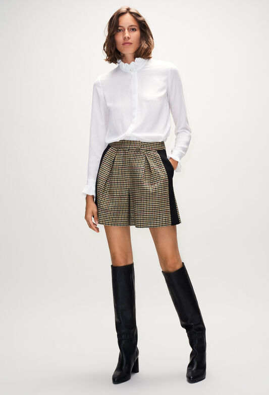 끌로디피에로 Claudie Pierlot ELSAH19 - Short A Carreaux Vichy,MULTICO