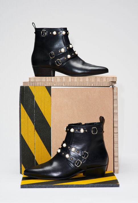 ALEGRIAH19 : Chaussures couleur NOIR