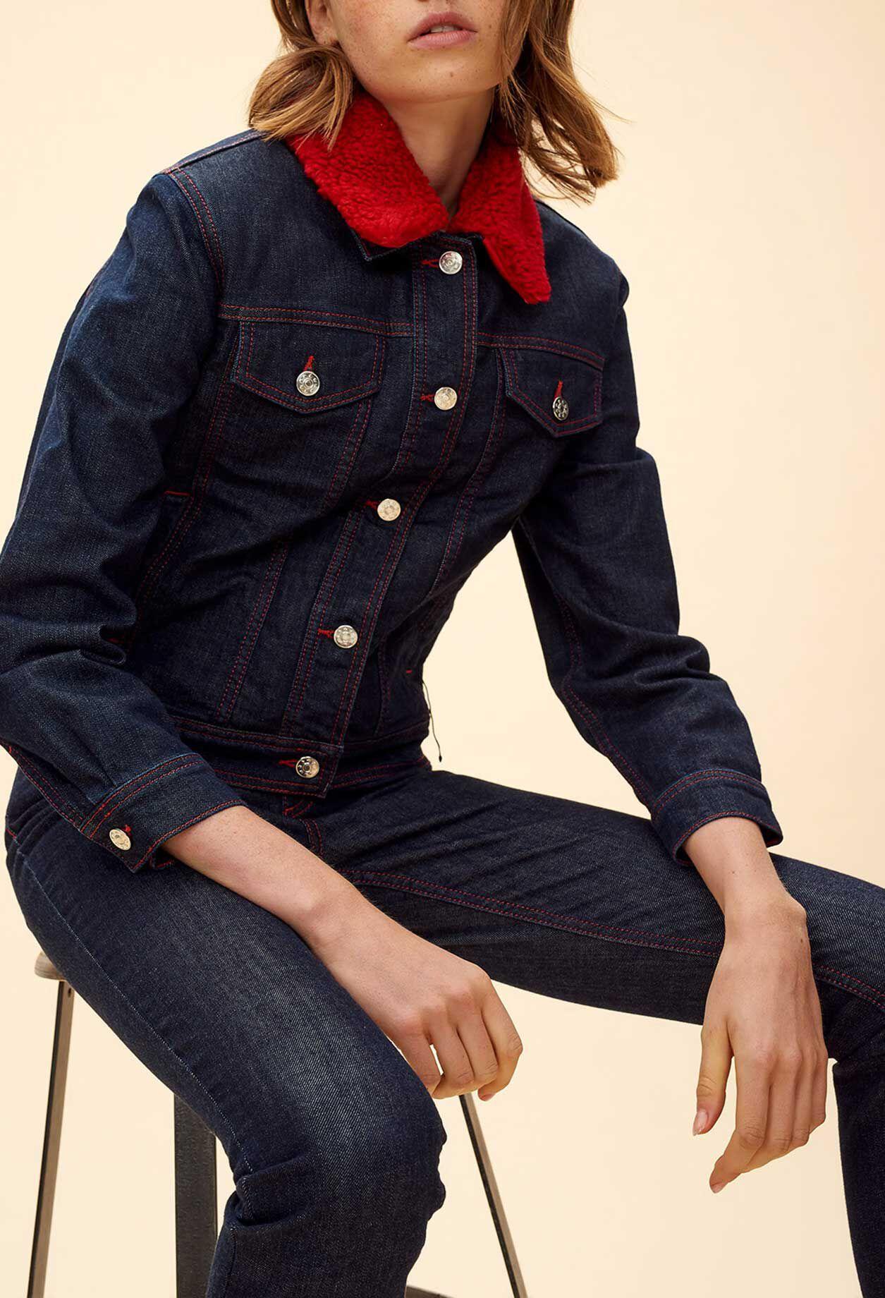 Veste classique avec jean