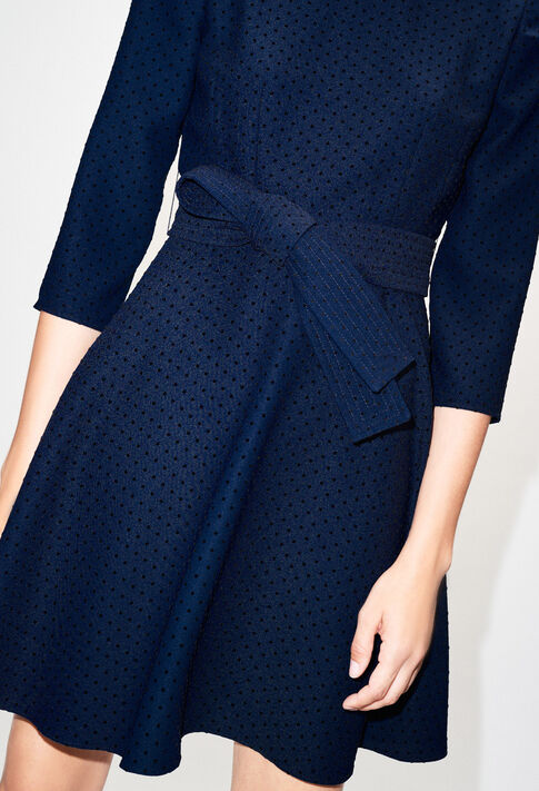 ROSELIEH19 : Robes couleur MARINE