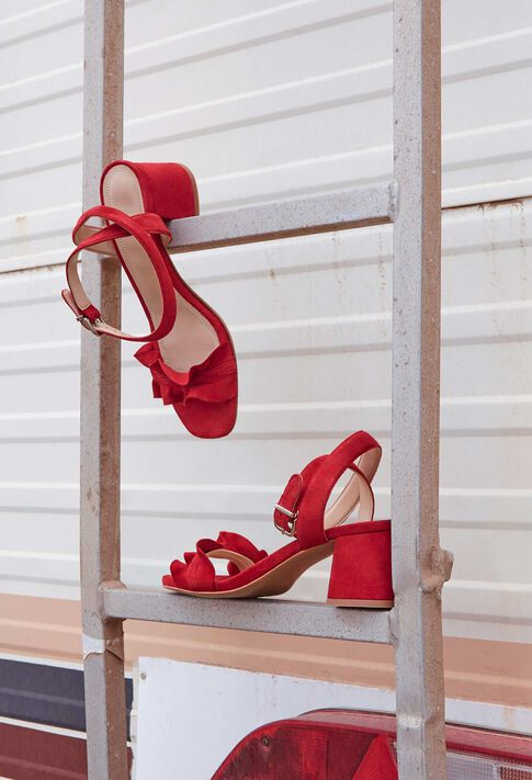 ANVERS TER : Chaussures couleur ROUGE
