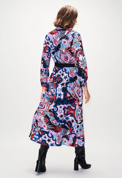 ROSALINDAH19 : Robes couleur PRINT