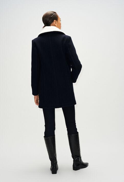 GUSTAVEH19 : Manteaux et Blousons couleur MARINE