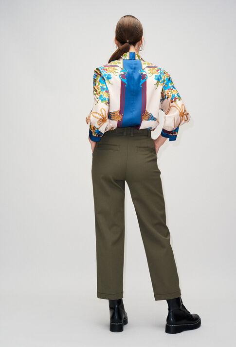 PABLITOH19 : Pantalons et Jeans couleur KAKI