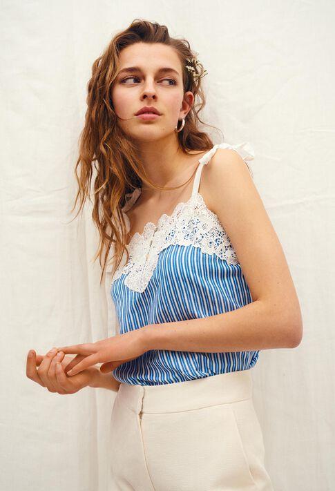 BLOUSY BIS : Tops et Chemises couleur TURQUOISE