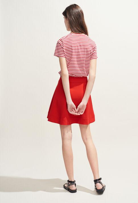SEYA : Jupes et Shorts couleur Ecarlate
