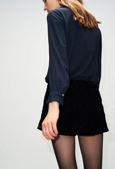 BUSINESSH19 : Tops et Chemises couleur MARINE