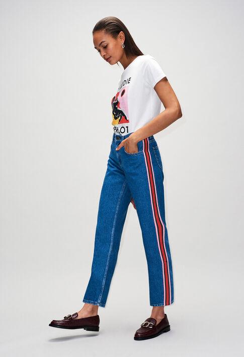PRISCAH19 : Pantalons et Jeans couleur JEAN