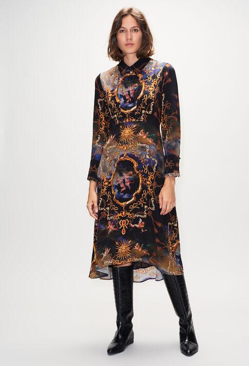RICHESSEH19 : Robes couleur PRINT