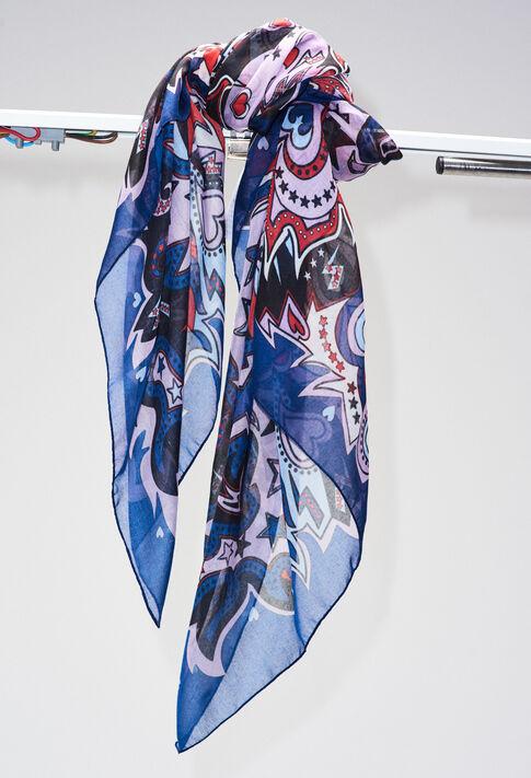 ARCADEH19 : Foulards & Écharpes couleur MULTICO