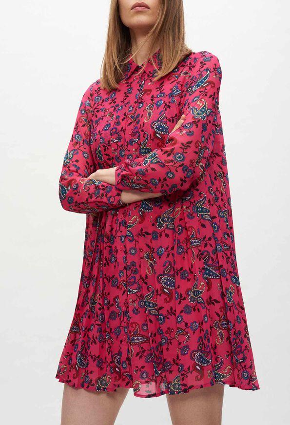 RAMSESCACHEMIREE20 : Robes couleur PRINT CLAIR