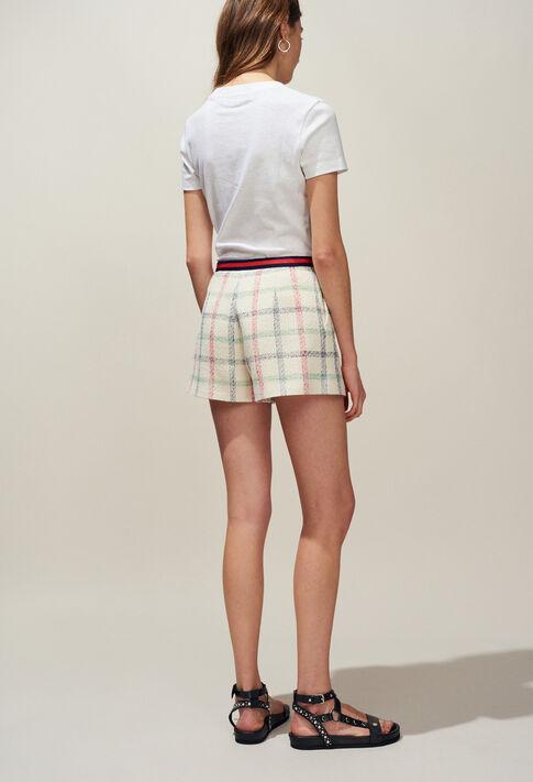 ELA : Pantalons Jupes & Shorts couleur VANILLE