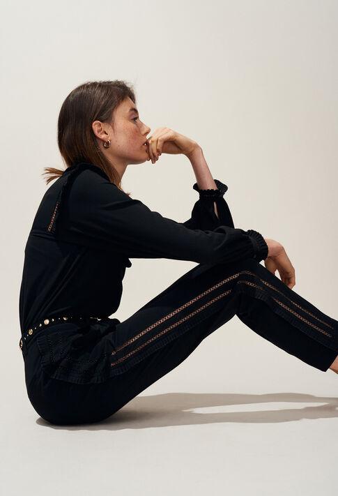 BULLE : Tops & chemises couleur Noir