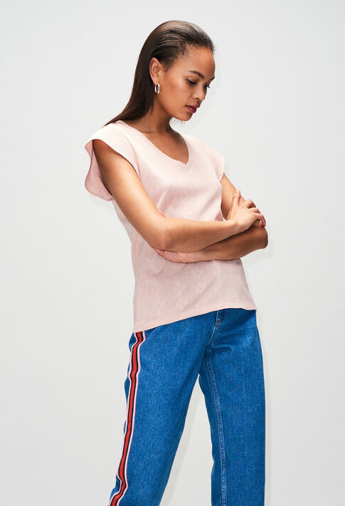 TRESSEH19 : T-Shirts couleur NUDE