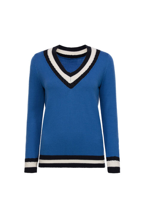 MIKE : Maille & Sweatshirts couleur Bleuet