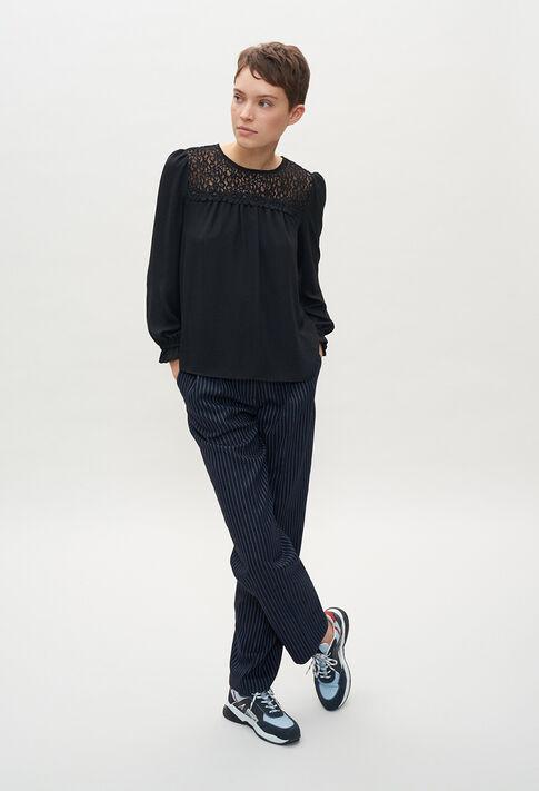 BAMBINE20 : Tops et Chemises couleur NOIR