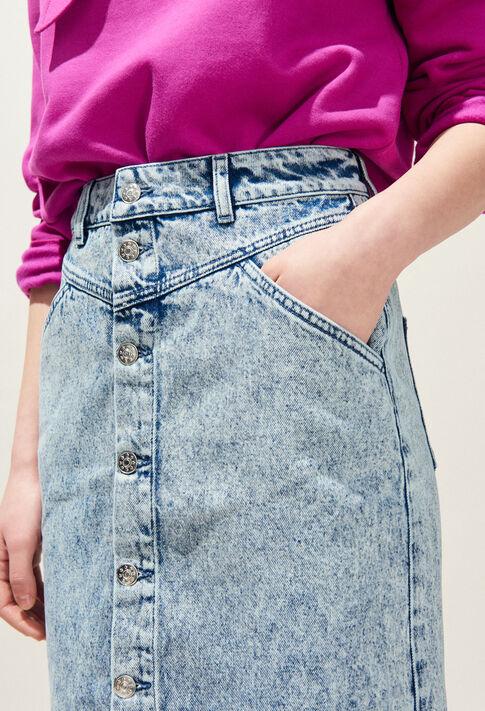 SOLE : Jupes et Shorts couleur Jean