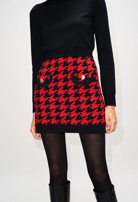 MAMAILLEH19 : Jupes et Shorts couleur CERISE