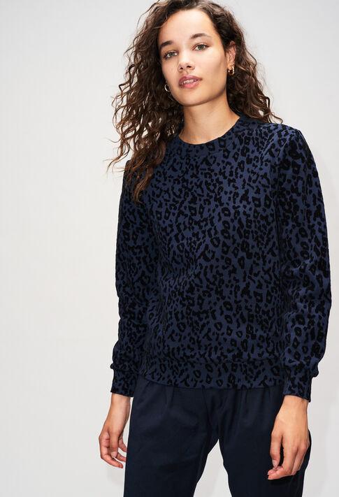TENACEH19 : Maille & Sweatshirts couleur MARINE
