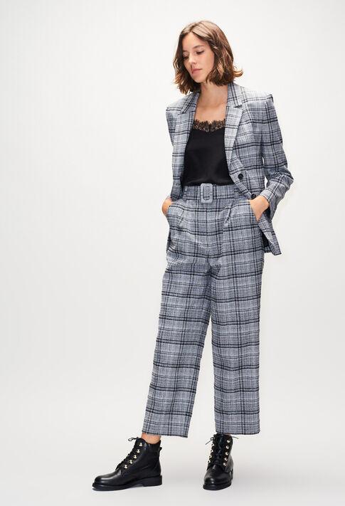 PEITOH19 : Pantalons et Jeans couleur BICOLORE