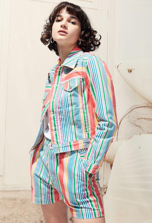 VACANCES : Manteaux et Blousons couleur MULTICO