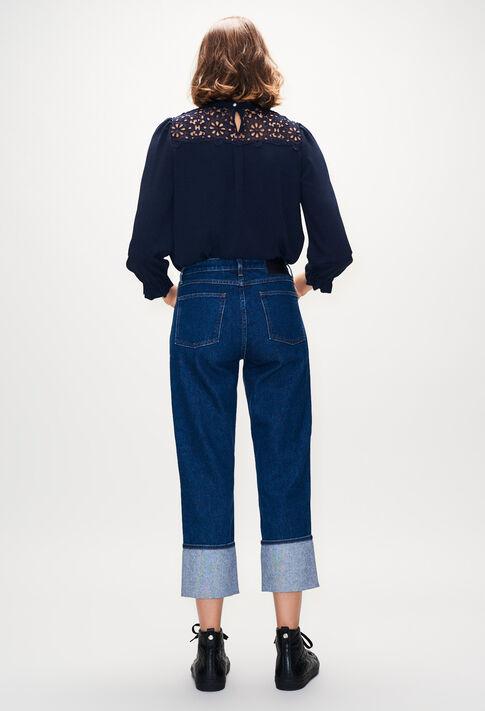 BADABOUMH19 : Tops et Chemises couleur MARINE