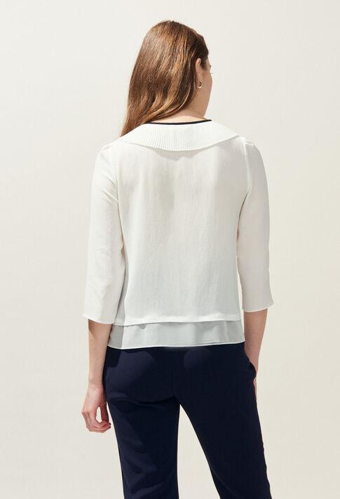 CHARLINE : Tops et Chemises couleur Ecru