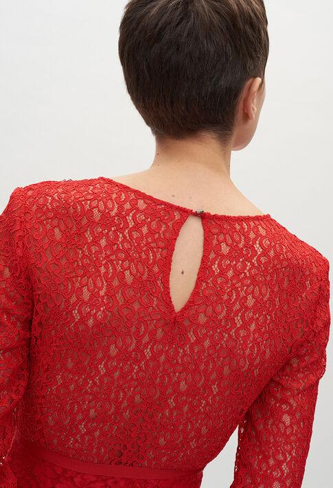 RABONIE20 : Robes couleur ROUGE