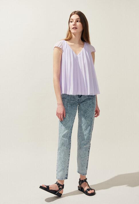 BLAZA : Tops T-shirts & Chemises couleur Lilas