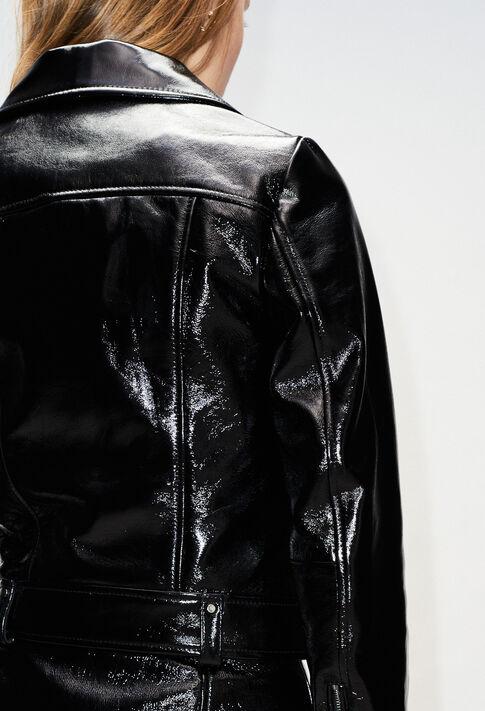 CARLYH19 : Manteaux et Blousons couleur NOIR
