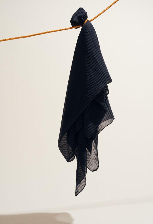 AERIEN : Foulards & Écharpes couleur MARINE
