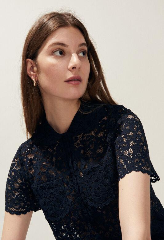 41f005c526cd Tops   Chemises femme   col claudine