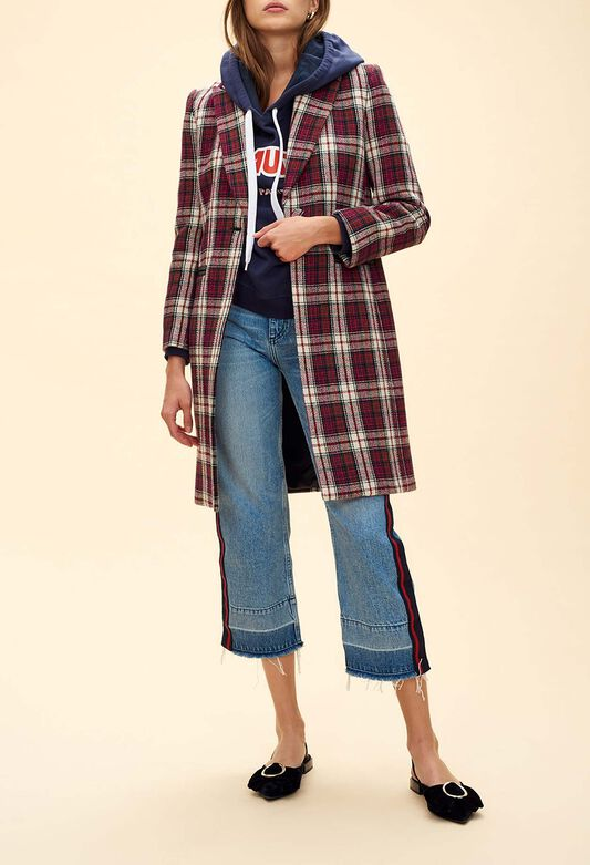 Manteau chic femme   blousons et manteaux   Claudie Pierlot 63a067ea679