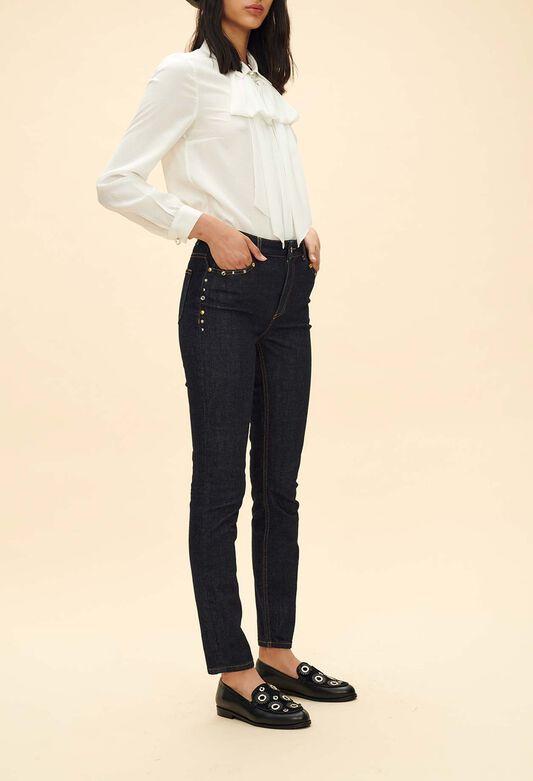 5150e55b7af63 Jeans, pantalon cigarette femme   Claudie Pierlot