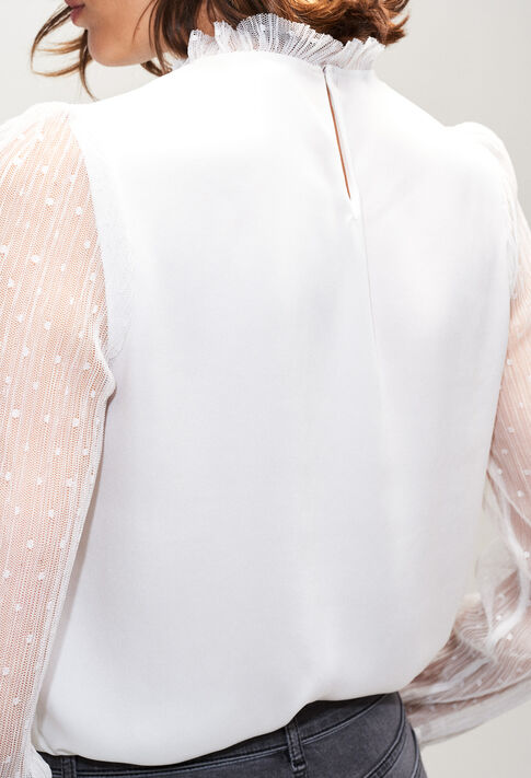 BENEDICTEH19 : Tops et Chemises couleur ECRU