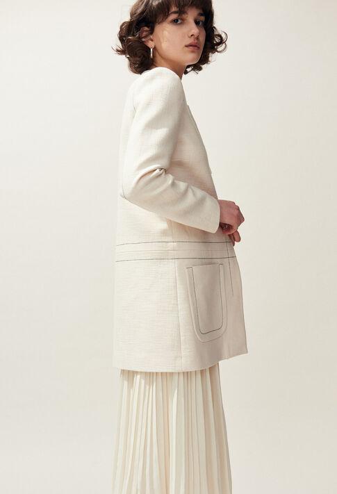 GAMO : Coats & Jackets couleur Ivoire