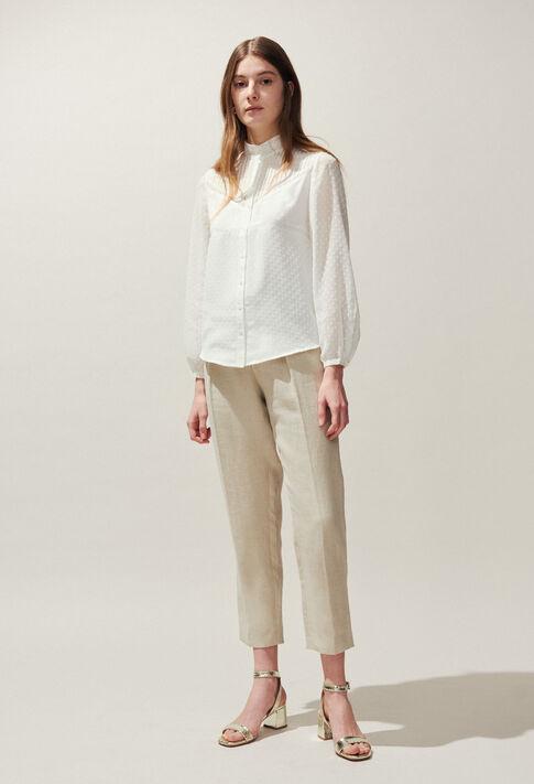 CALLY : Tops et Chemises couleur Ecru
