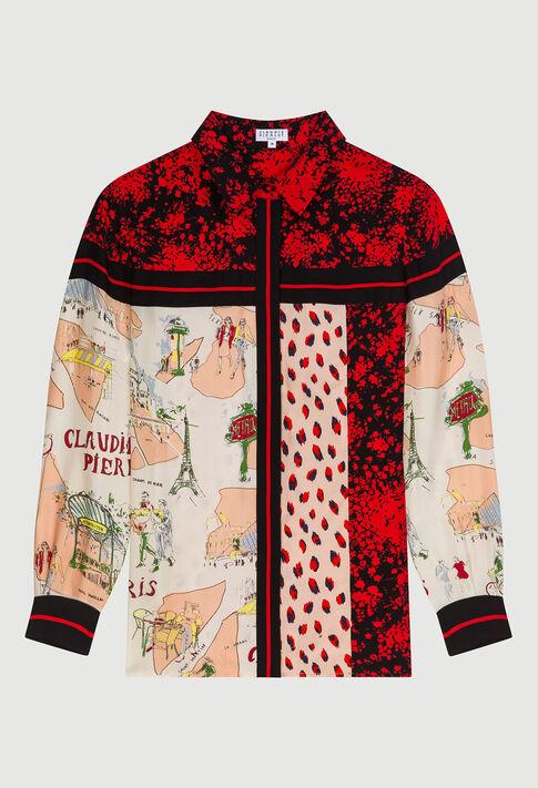 CADEAUE20 : Tops et Chemises couleur PRINT