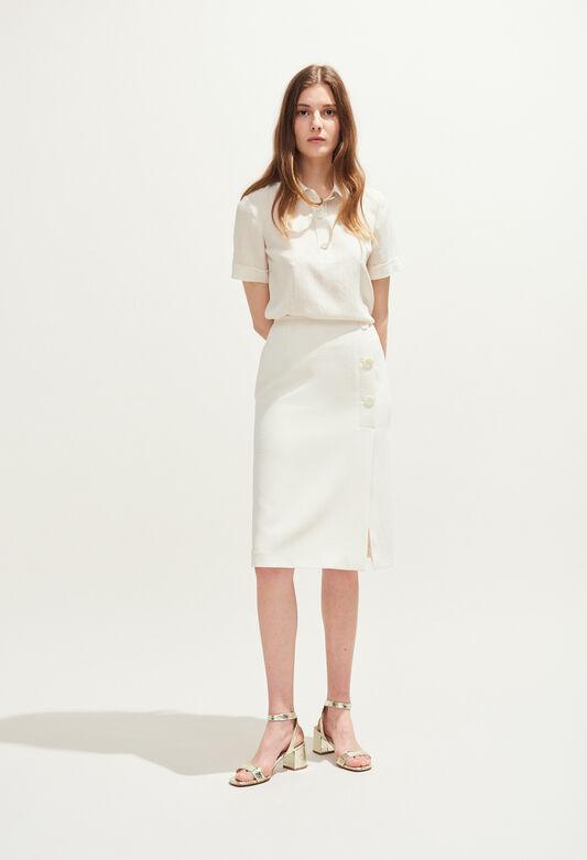SANK : Jupes et Shorts couleur IVOIRE
