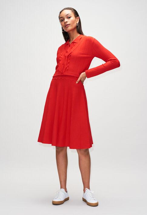 MYOSOTISH19 : Robes couleur ROUGE