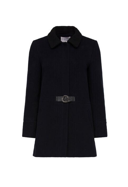 GINGEMBRE : Manteaux et Blousons couleur MARINE