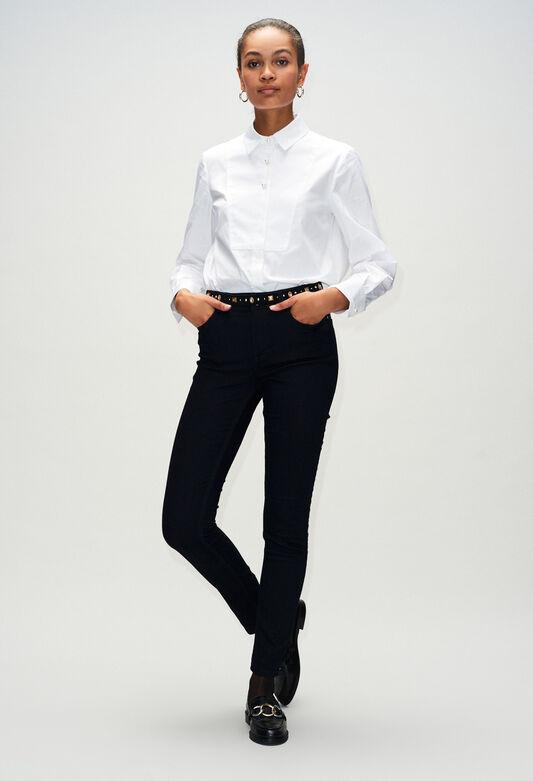 POWERH19 : Pantalons et Jeans couleur MARINE