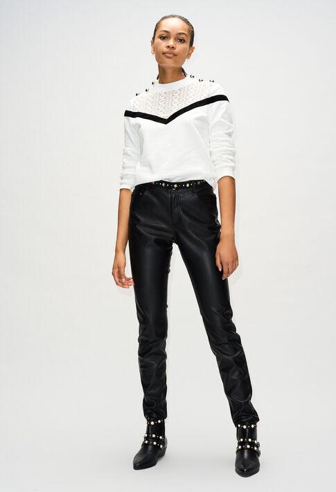 TAMAH19 : Maille & Sweatshirts couleur ECRU