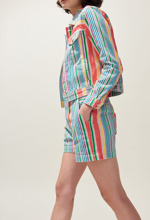 VACANCES : Coats & Jackets couleur MULTICO