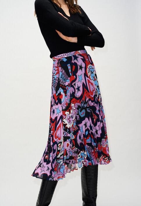 SEZAMEH19 : Jupes et Shorts couleur PRINT