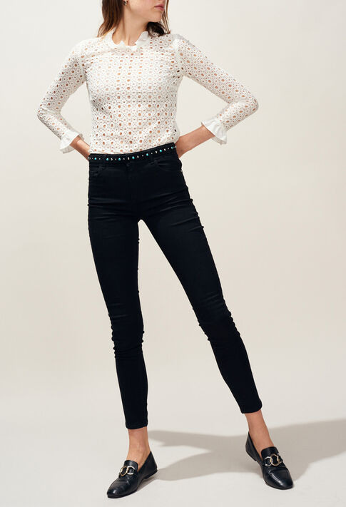 POWER : Pantalons et Jeans couleur Noir