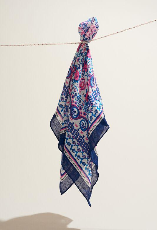 e99a256e50 ALMERIA : Foulards & Écharpes couleur MULTICO