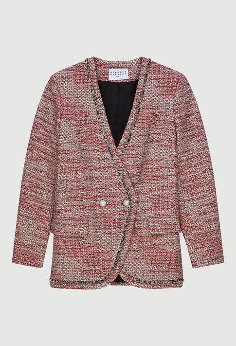 VAGUEE20 : Vestes couleur ROUGE