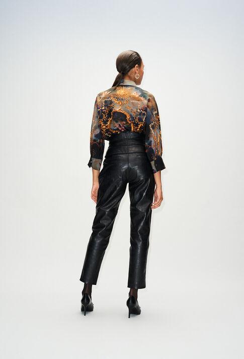 CARDAMONEH19 : Pantalons et Jeans couleur NOIR